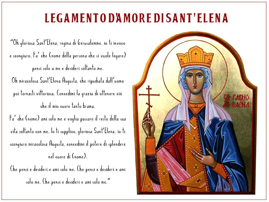 legamento d'amore di Sant'Elena