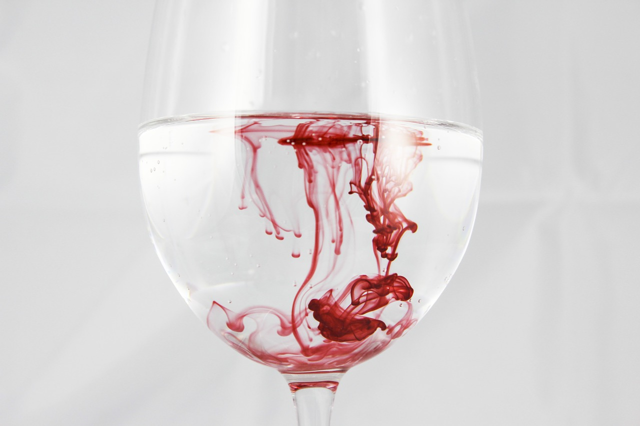 legamento d'amore del sangue mestruale